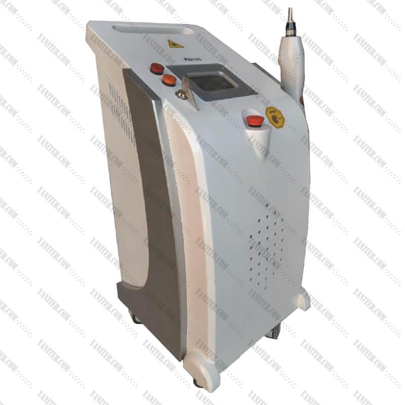 دستگاه لیزر کیوسوییچ Qswitch پاک کردن تاتو و خالکوبی لکهای پوستی و کبودی کک و مک